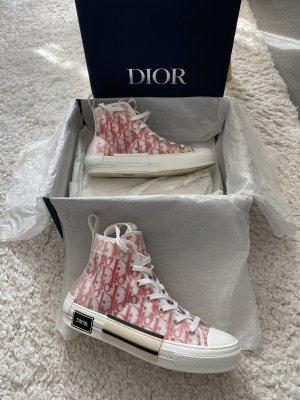 Dior Zapatillas altas rojo-blanco