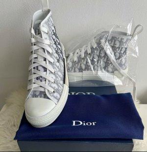 Christian Dior High Top Sneaker baby blue-cornflower blue