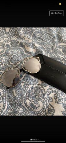 Christian Dior Lunettes retro argenté-noir