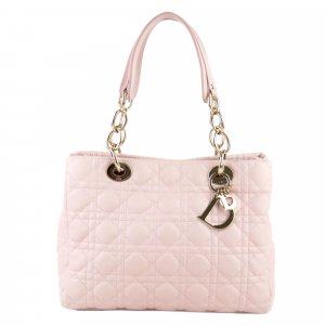 Dior Soft Lady Dior Shopper Tote Bag