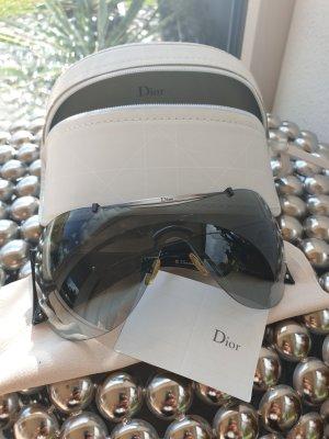 Christian Dior Occhiale da sole rotondo nero