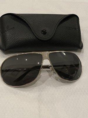Dior Aviator Glasses silver-colored-black