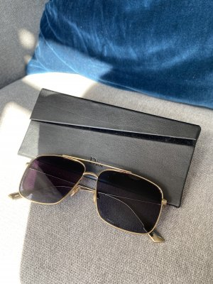 Dior Aviator Glasses gold-colored-dark blue