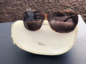 Dior Ovale zonnebril veelkleurig kunststof