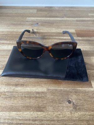 Dior Owalne okulary przeciwsłoneczne fiolet