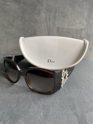Dior Square Glasses bronze-colored-brown acetate