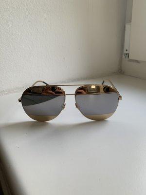 Dior Bril goud-grijs