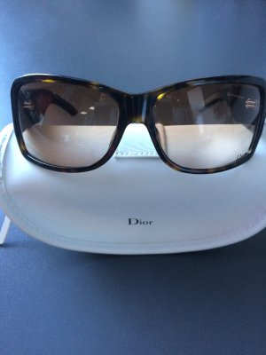 Dior Butterfly Glasses dark brown synthetic material