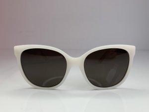 Dior Gafas mariposa blanco puro-color oro