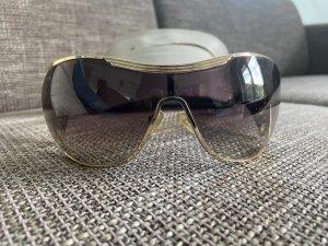 Dior Gafas de sol ovaladas color oro-violeta amarronado