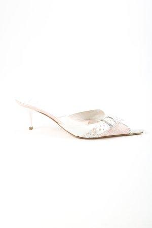 Dior Spitz-Pumps weiß-nude Casual-Look