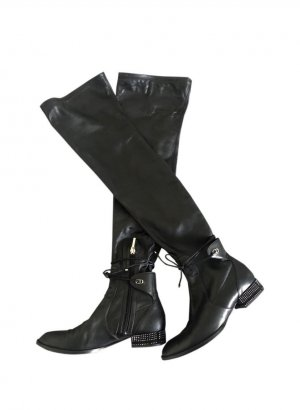 Dior Stellar Overknee Leder Boots