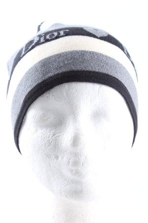 Dior Cappello a maglia Stampa a tema stile casual