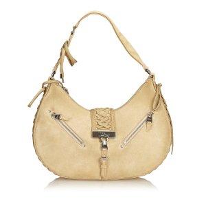 Dior Suede Admit It Shoulder Bag