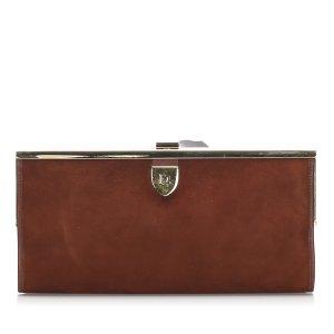 Dior Suede Clutch Bag