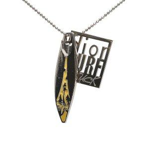 Dior Surf Chick Pendant Necklace