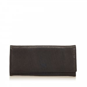 Dior Textured Leather Diorissimo Wallet
