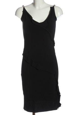 Dior Abito scamiciato nero elegante