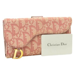 Dior Trotter Canvas Long Wallet