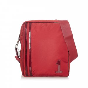 Dior Crossbody bag red nylon