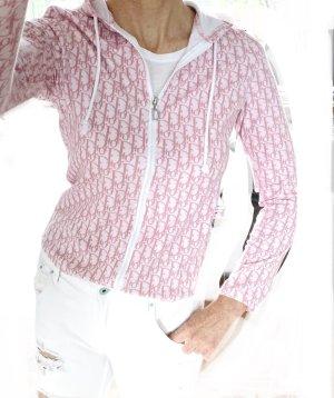 Dior Giacca fitness bianco-rosa pallido