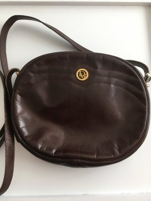 Dior Shoulder Bag dark brown-brown