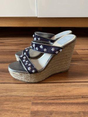 Dior Wedges Sandalen mit Keilabsatz