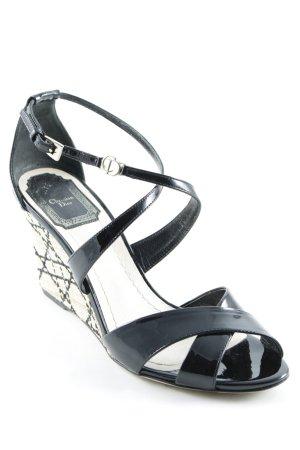 Dior Wedges Sandaletten mehrfarbig Elegant