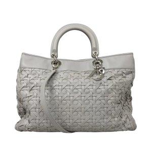 Dior Satchel light grey leather