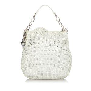 Dior Woven Leather Handbag