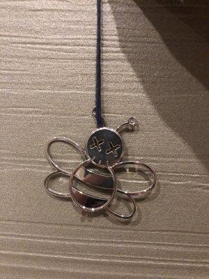 Dior Porte-clés argenté