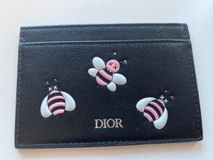 Christian Dior Kaartetui zwart-roze