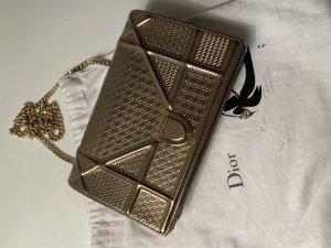 Christian Dior Bolso de mano color oro