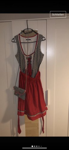 My Holly's Vestido Dirndl rojo