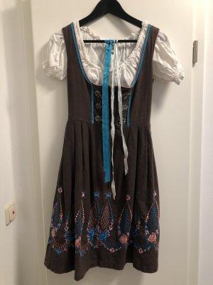 Alprausch Sukienka koszulowa Wielokolorowy Bawełna