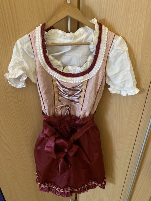 Mary Dirndl color oro rosa
