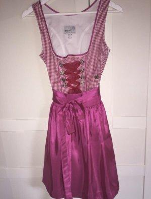 MarJo Dirndl rosa-bianco
