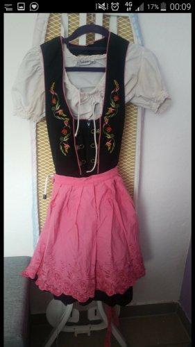 Almenrausch Vestido Dirndl rosa