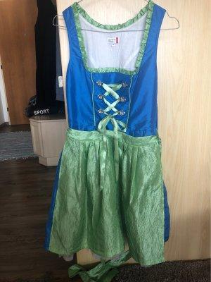NKD Dirndl vert-bleu