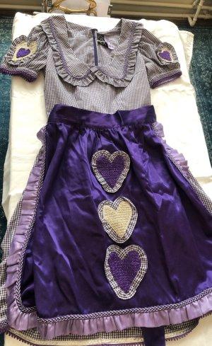 Petticoat Dress lilac-white