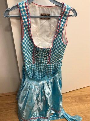 Stockerpoint Vestido de cóctel azul-rosa