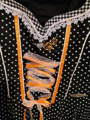 Sukienka z gorsetem Wielokolorowy Bawełna