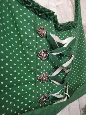 Authentic Dirndl white-forest green