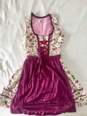 Spieth & Wensky Dirndl cream-purple