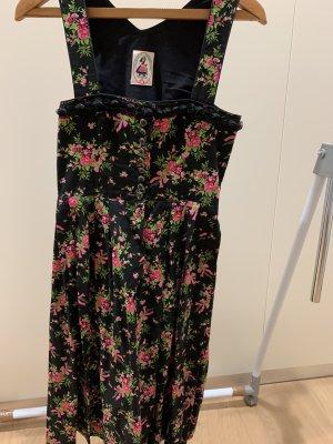 Dirndl zwart-roze