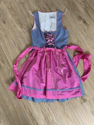 Sukienka z gorsetem różowy