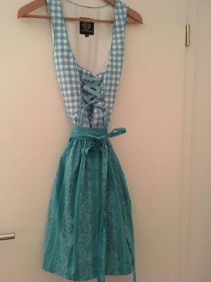 Almenrausch A-lijn jurk lichtblauw