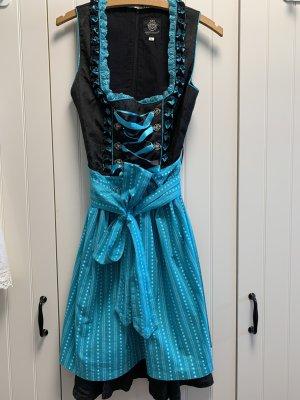 Almenrausch Sukienka z gorsetem Wielokolorowy