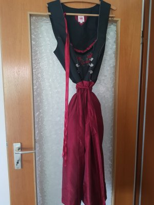 Spieht & Wensky Dirndl black-dark red