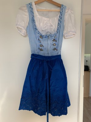 Original Steindl Dirndl blue-white